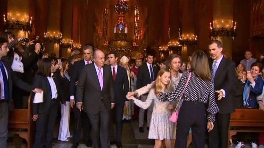 Petit clash royal en Espagne
