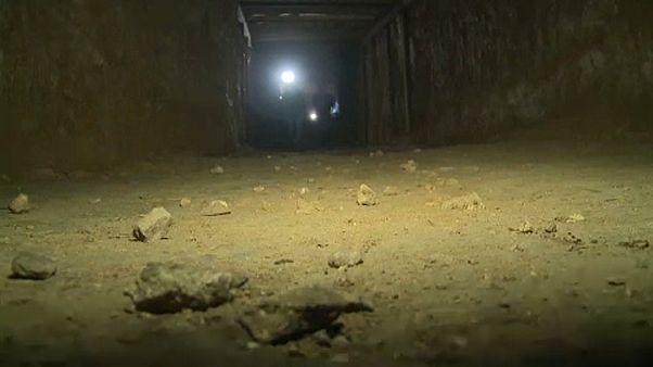 Megtalálták a lázadók alagútrendszerét Damaszkuszban