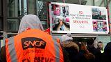 دومین روز اعتصاب کارگران راه آهن فرانسه؛ دولت ماکرون کوتاه نمیآید