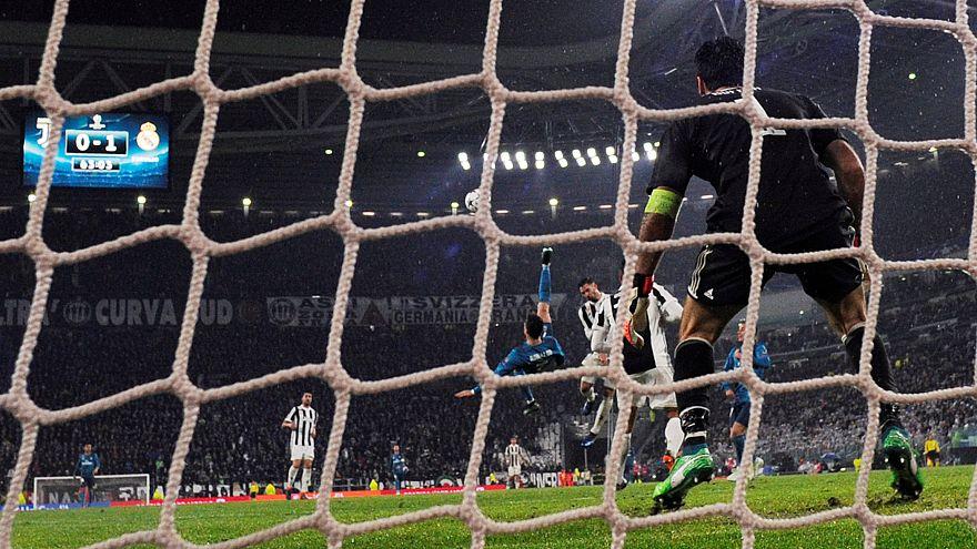 O momento de ronaldo que deixou Buffon pregado no relvado