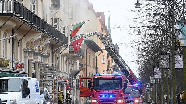 Stockholm: Brandstiftung in portugiesischer Botschaft