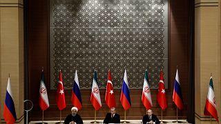 Συρία: Σταθερή εκεχειρία θέλουν Πούτιν, Ροχανί και Ερντογάν