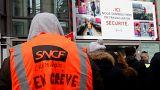Γαλλία: Δεύτερη ημέρα των κινητοποιήσεων των σιδηροδρομικών