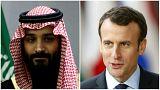 مدافعان حقوق بشر خطاب به ماکرون: به ولیعهد عربستان برای توقف جنگ یمن فشار بیاورید