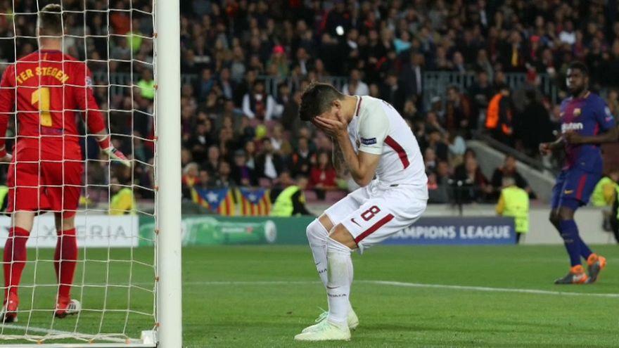 Quarti di Champions cade la Roma