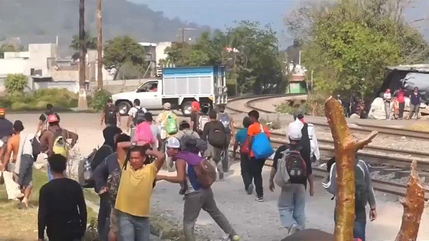 Migranten-Marsch Richtung USA stoppt früher als geplant