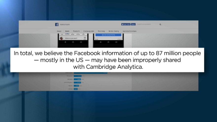 Facebook: 87 milyon kullanıcının kişisel verileri sızdırıldı