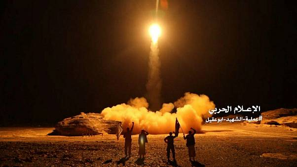 the launch by Houthi forces of a ballistic missile