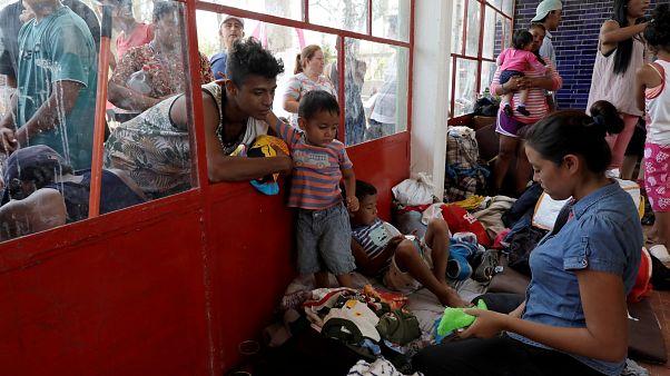 Καραβάνι μεταναστών στα σύνορα Μεξικού-ΗΠΑ