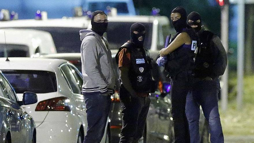 الشرطة الفرنسية في العاصمة باريس