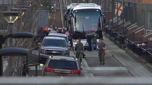 US-Diplomaten verlassen Moskau