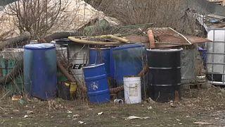 Veszélyes hulladékok felderítése Szerbiában
