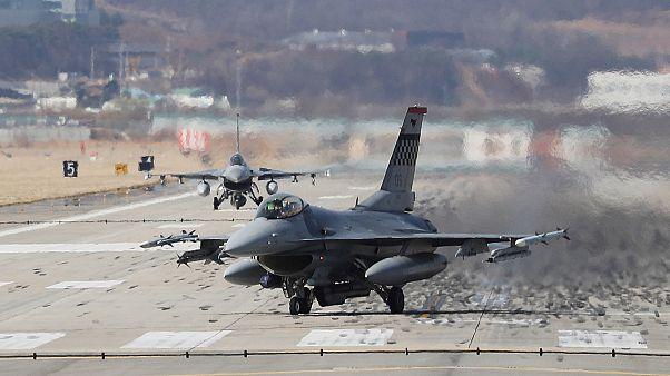F-16 ВВС США в Южной Корее