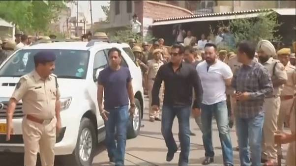 Star falls as Bollywood's Salman Khan gets five years for killing endangered species