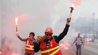 France's unprecedented rail strike in numbers