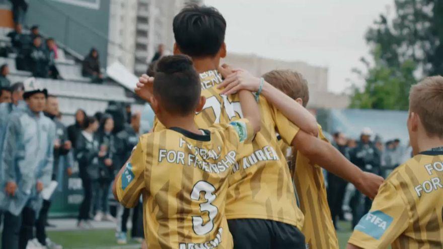 Football for Friendship: Kids aus aller Welt kommen zur WM nach Moskau