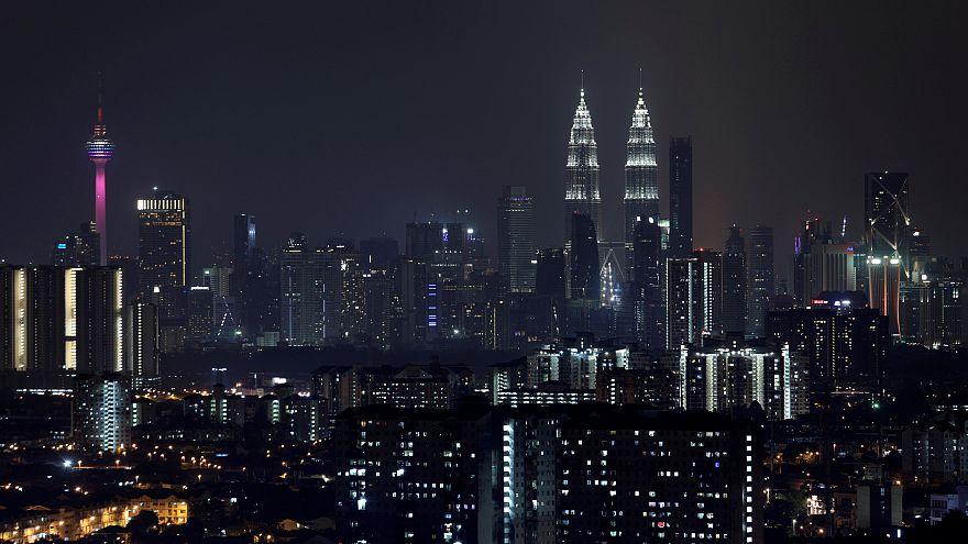 مشهد من العاصمة الماليزية كوالالمبور