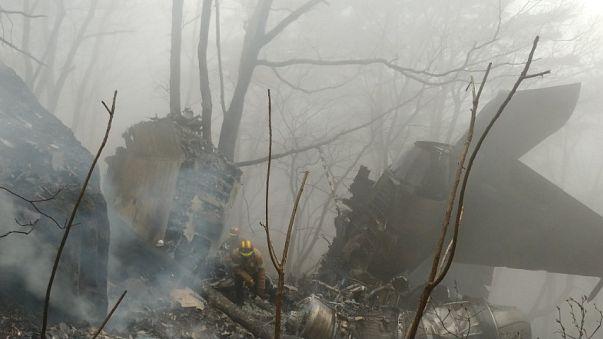 تحطم مقاتلة كورية جنوبية وأنباء عن مقتل طياريها
