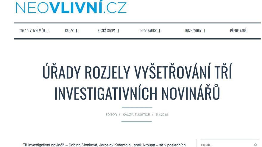 """""""Behörden ermitteln gegen drei Investigativjournalisten"""""""