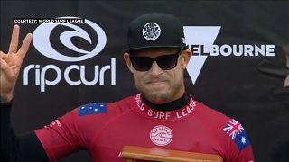 Surf: Fanning chiude l'ultima gara al secondo posto
