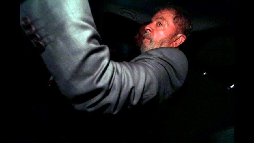 """Lula, """"sereno"""" ante su inminente encarcelación"""