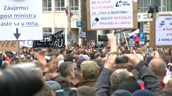 Clamor en Eslovaquia por el asesinato de Jan Kuciak