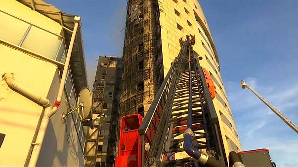 İstanbul: Taksim Araştırma Hastanesi'nde büyük yangın