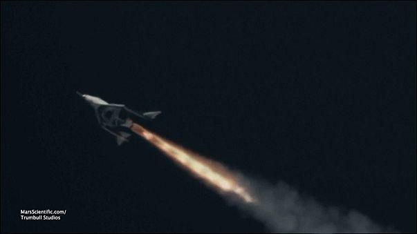 المركبة الفضائية للركاب التابعة لشركة فيرجن غالاكتيك