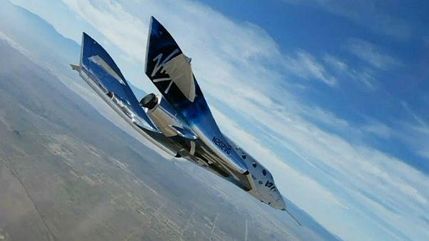 پرواز آزمایشی فضاپیمای توریستی شرکت «ویرجین گلکتیک» پس از سه سال