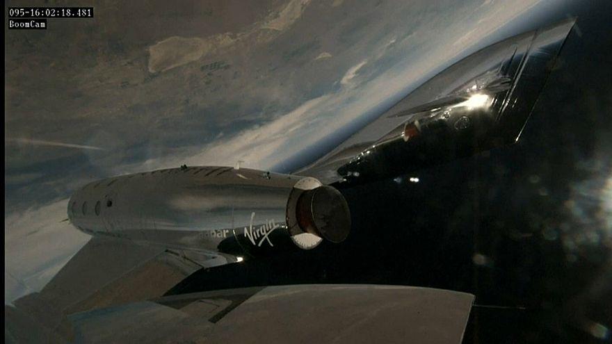 VSS Unity: в космос на ракетной тяге