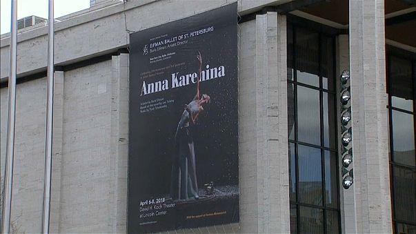 """Однажды 20 лет спустя: Борис Эйфман вновь привез в Нью-Йорк свою постановку """"Анна Каренина"""""""