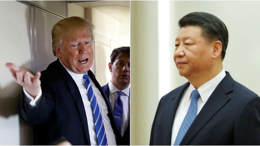 Il presidente USA Donald Trump e quello cinese Xi Jinping