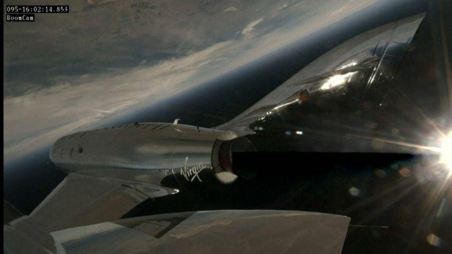 Virgin Galactic uzay turizmi için yeniden kolları sıvadı