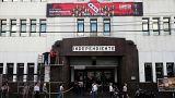 Das Hauptquartier des argentinischen Fußball-Klubs Atlético Independiente