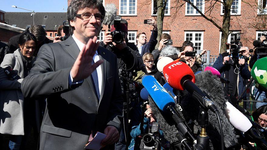 Carles Puigdemont obrigado a permanecer na Alemanha
