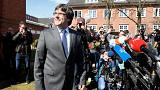 Puigdemont sale bajo fianza de la cárcel de Neumünster