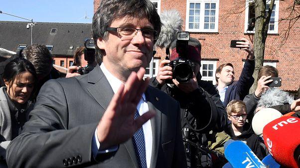 Carles Puigdemont frei und zunächst in Berlin