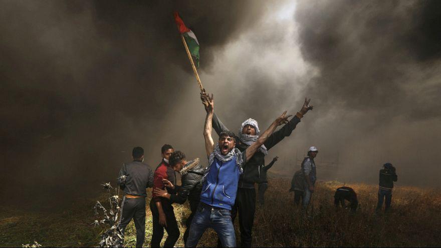 راهپیمایی «بازگشت» در مرز غزه؛ سربازان اسرائیلی به روی تظاهرکنندگان فلسطینی آتش گشودند