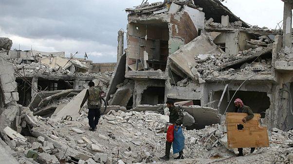 شهر دوما در سوریه