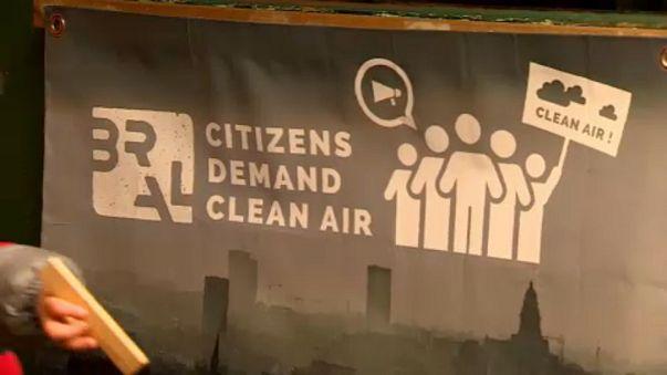 Brüssel - Hauptstadt der Luftverschmutzung in Europa