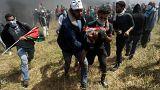 Affrontements meurtriers à la frontière de Gaza