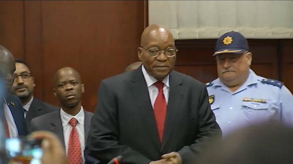 Corruption charges case against former President of South Africa Jacob Zuma adjourned til 8 June