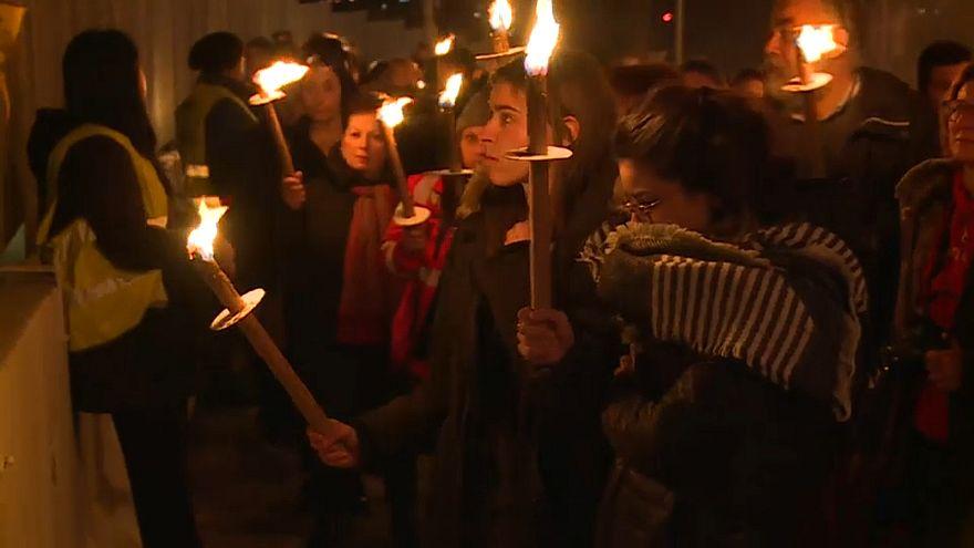 В Аквиле вспоминают погибших