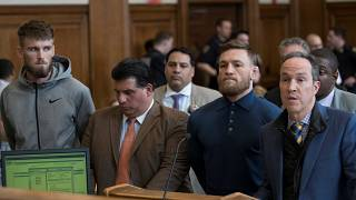 Conor McGregor free on bail after vandalising bus