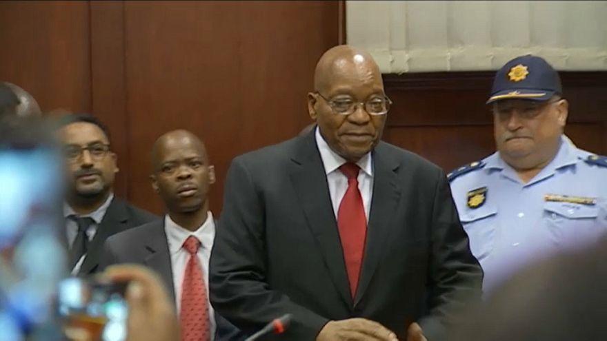 Jacob Zuma comparece ante la justicia sudafricana