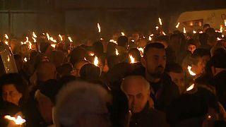 إحياء الذكرى 9 لموت مئات الإيطاليين في أكيلا بسبب الزلزال
