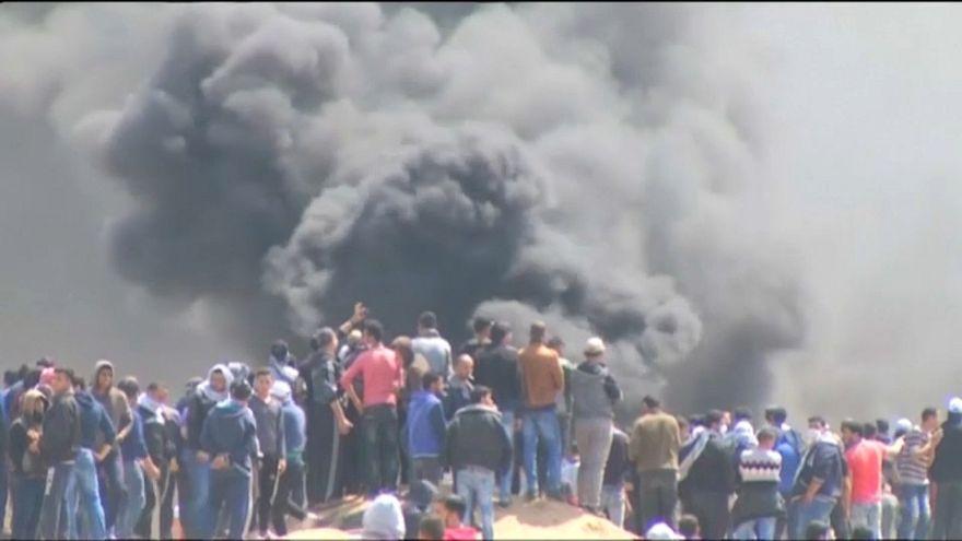 Al menos siete muertos en protestas en Gaza