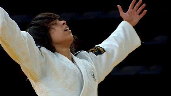 Catarina Costa savours her golden moment at Antalya Grand Prix