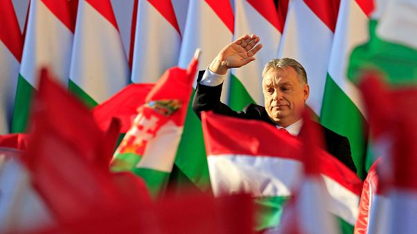"""""""Schicksalswahl"""": Viktor Orbán schwört Anhänger auf Wahl ein"""