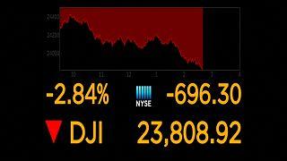 Wall Street auf Talfahrt